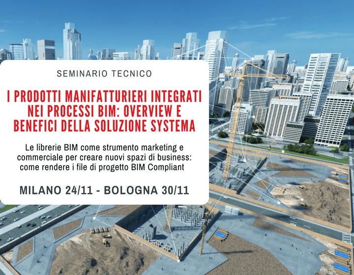 Eventi PBIM novembre Milano e Bologna