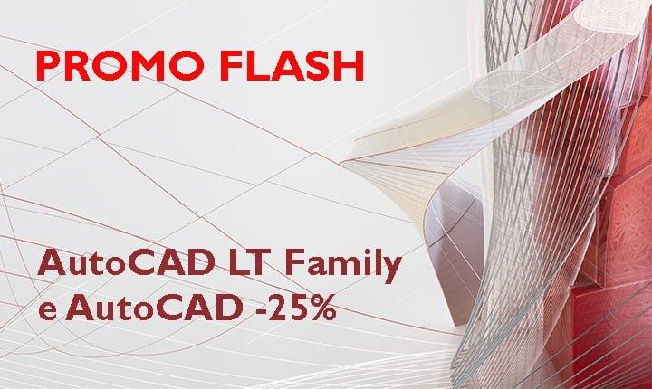 Promo Flash offer Autodesk