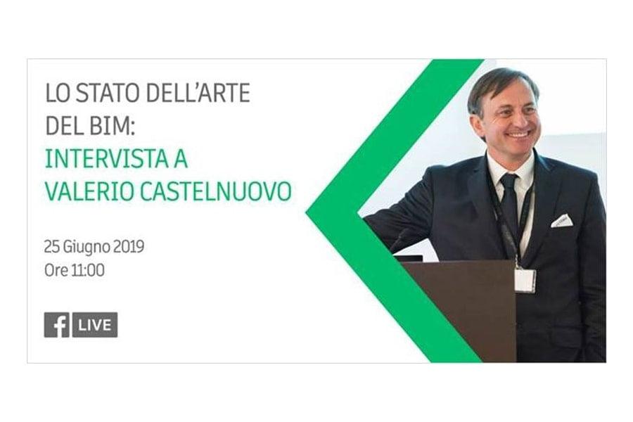 LIve FB Valerio Castelnuovo: lo stato dell'arte del BIM