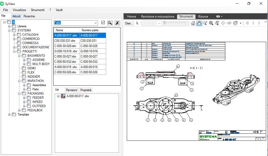 Syview - Visualizzazione Vault