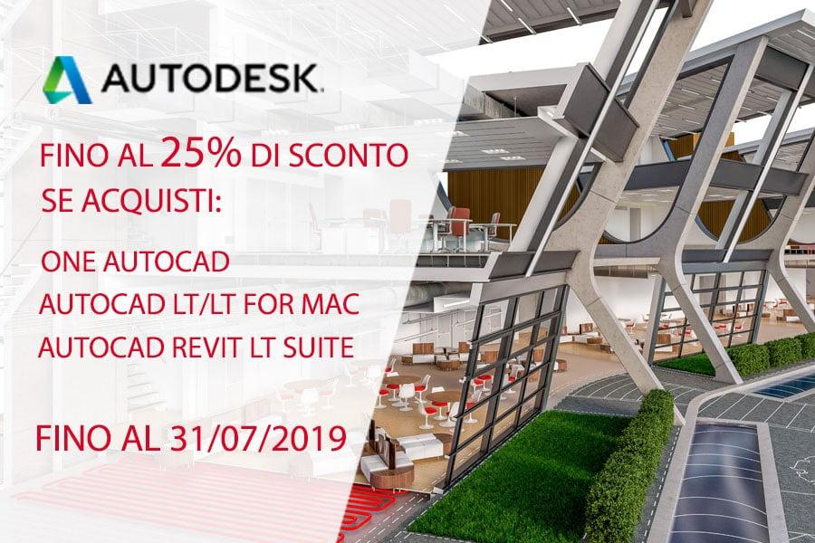 Flash Offer Autodesk 31 luglio 2019