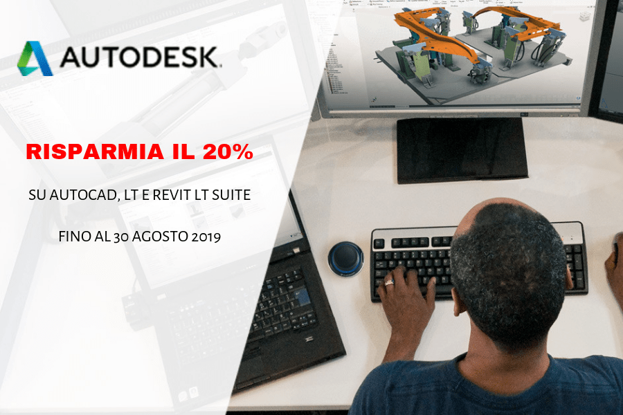 Promozione flash offer Autodesk